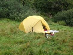 MSR Hubba Hubba, sålangt et supert telt! 1,8 kg.