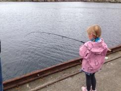 oouupsss.... stram line og fin fisk på land!