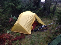Basecamp, MSR Hubba Hubba telt.