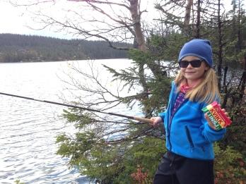 Tenkara fiske og Kvikklunch