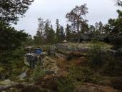 Hva er bedre enn et leirbål og telt på ei fjellhylle med utsikt over fiskehølen!